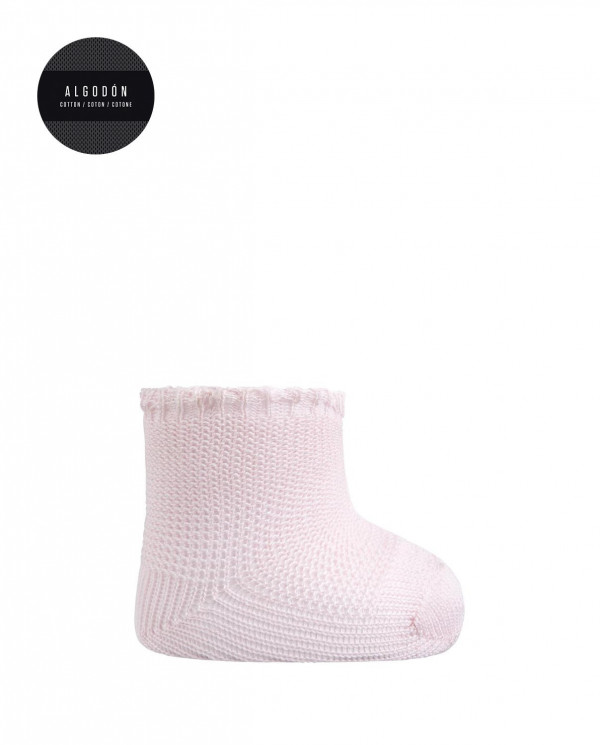 Cotton soks - links Color Pink - 1
