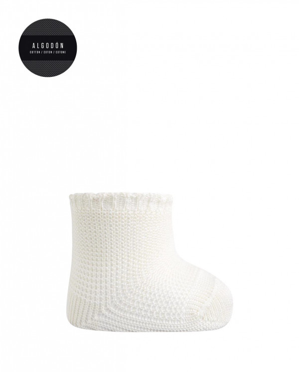 Cotton soks - links Color Beige - 1