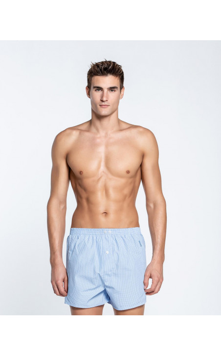Woven boxer, Maurice Color Blue - 1