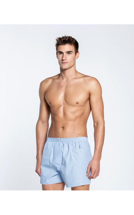 Woven boxer, Maurice Color Blue - 2