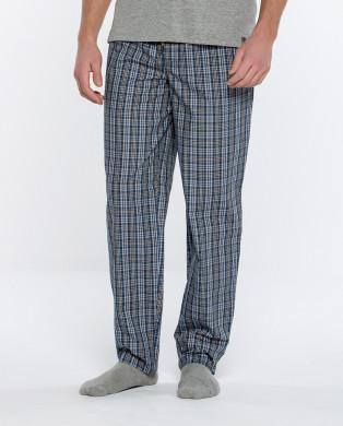 Pantalon long à carreaux,...