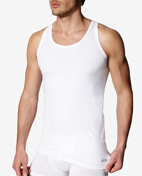 Xperience sleeveless Strappy T-shirt Color White - 1