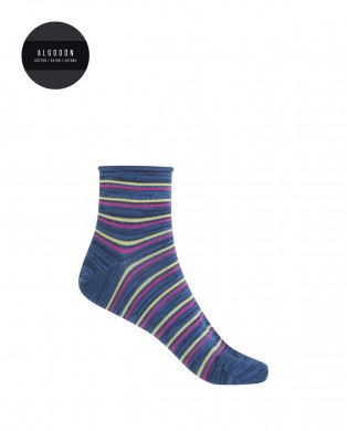 Viscose socks - geometrical...