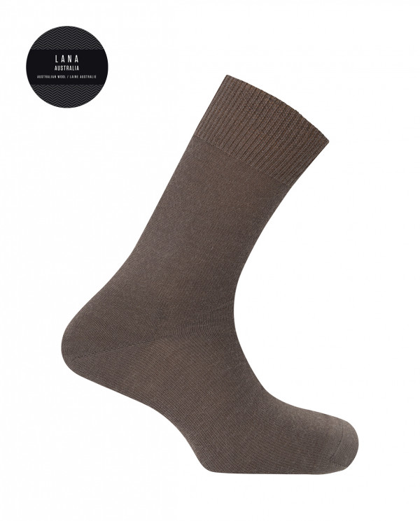 100% wool socks - plain