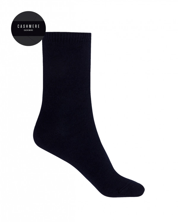 Cashmere/wool socks - plain