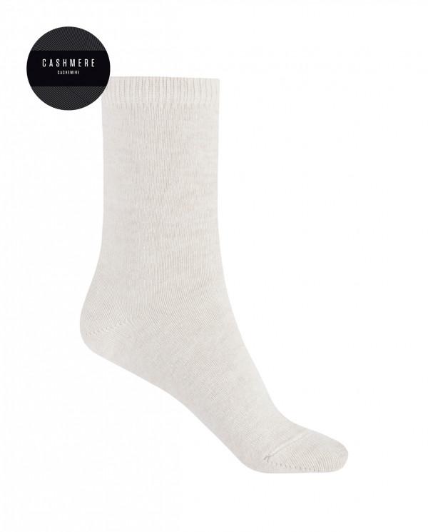 Calcetines de cashmere/lana - liso