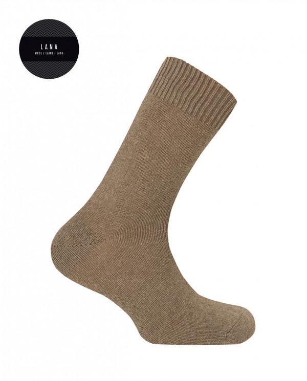 Calcetines de lambswool - liso