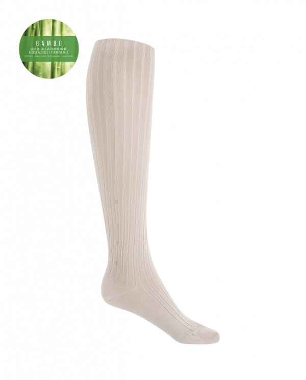 Rich bamboo socks - ribbed