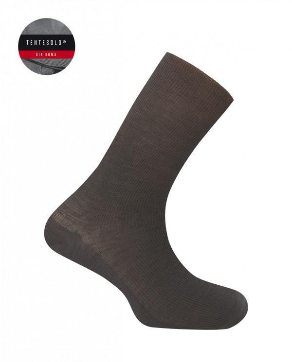 "Wool socks- ribbed ""Tentesolo"""