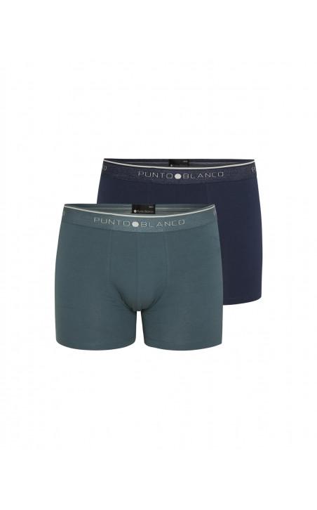 Lot de 2 boxers en coton bio, Fractals Couleur Assorti - 1 - 2 - 3 - 4 - 5 - 6 - 7