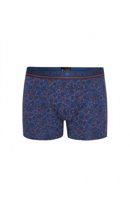 Pack of 2 organic cotton boxers, Sequence Color Blue - 1 - 2 - 3 - 4 - 5 - 6 - 7 - 8