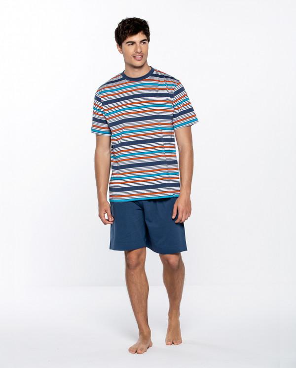 Short cotton set, Energize Color Navy - 1