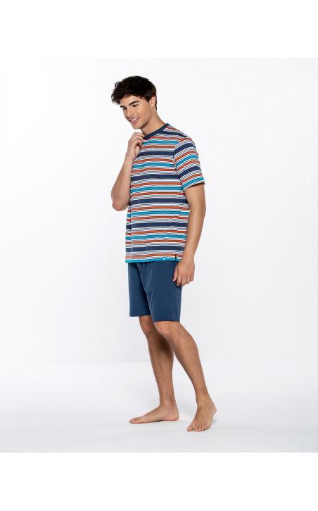 Short cotton set, Energize Color Navy - 1 - 2 - 3