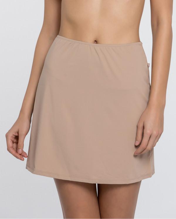 Skirt Caresse Couleur Vison - 1