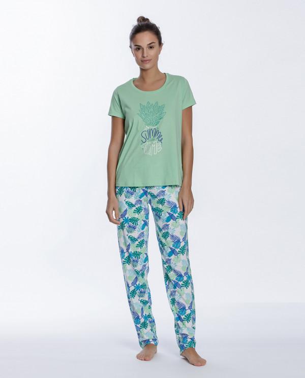 Cotton set, Tropical Color Green - 1