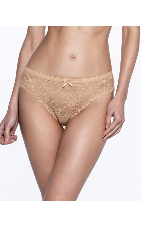 Pack de 3 briefs, Sand Couleur Nude - 1