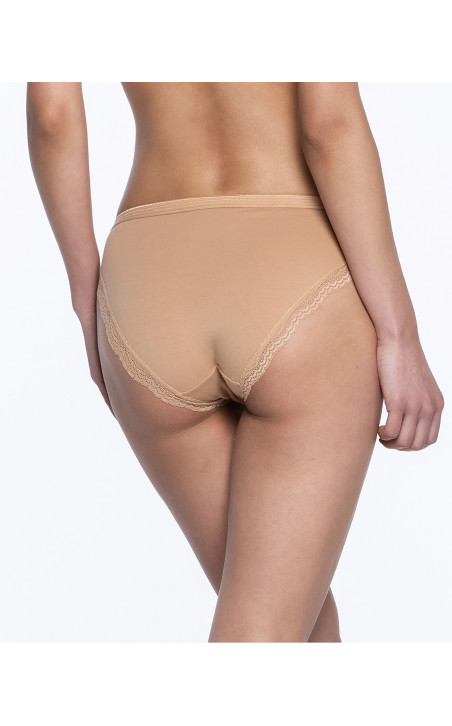 Pack de 3 briefs, Sand Couleur Nude - 1 - 2 - 3 - 4