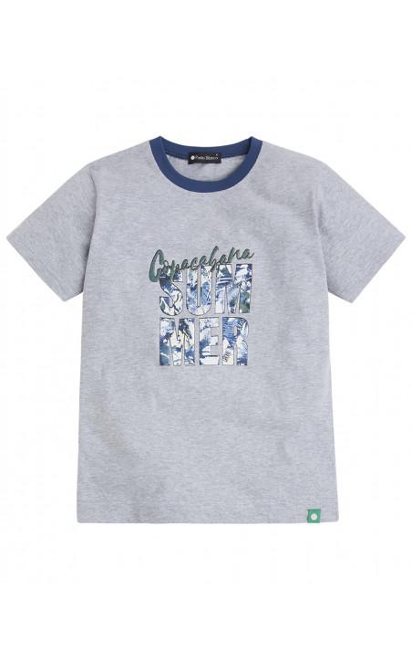 Short cotton set, Cities Color Blue - 1 - 2