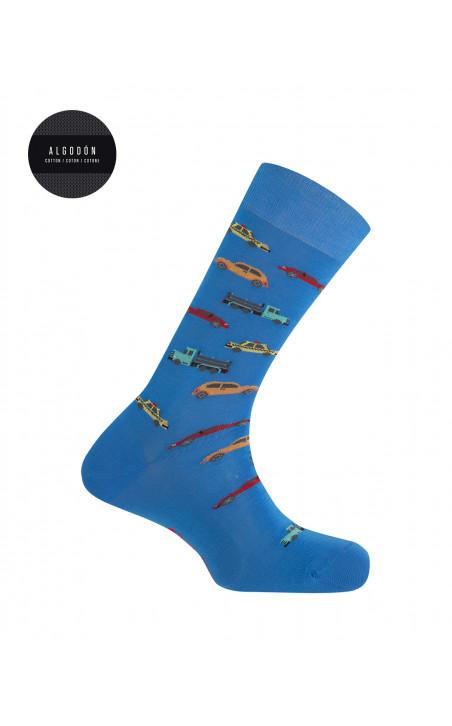 Boîte de 3 chaussettes en coton - fantaisie Couleur Assorti - 1 - 2 - 3