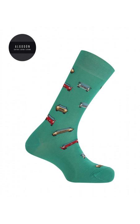 Boîte de 3 chaussettes en coton - fantaisie Couleur Assorti - 1 - 2 - 3 - 4 - 5