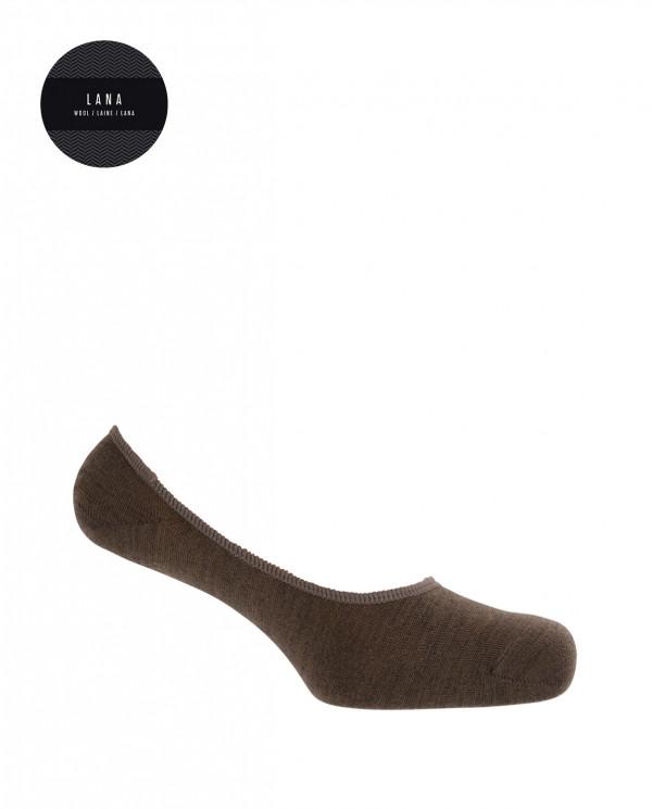 Invisible socks - plain Color Black - 1