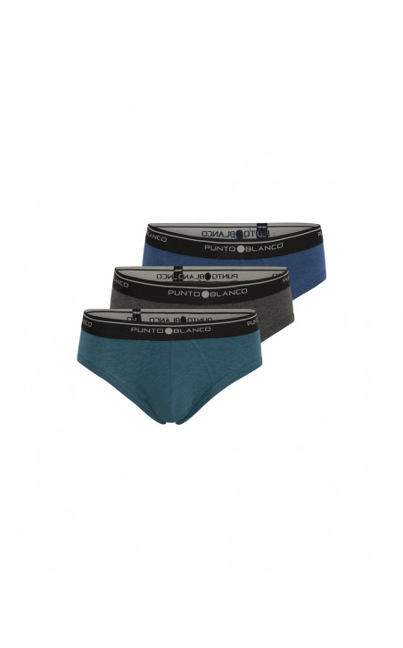 Three-pack Slip Basix Color Assorted - 1 - 2 - 3 - 4 - 5 - 6 - 7 - 8 - 9 - 10
