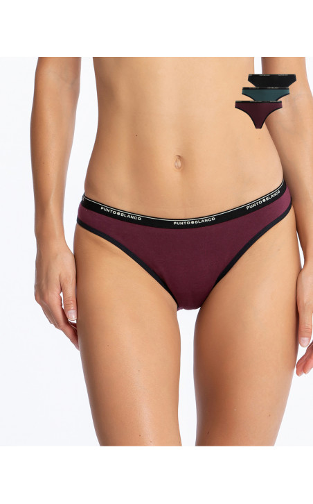 Basix Brief Pack Color Assorted - 1